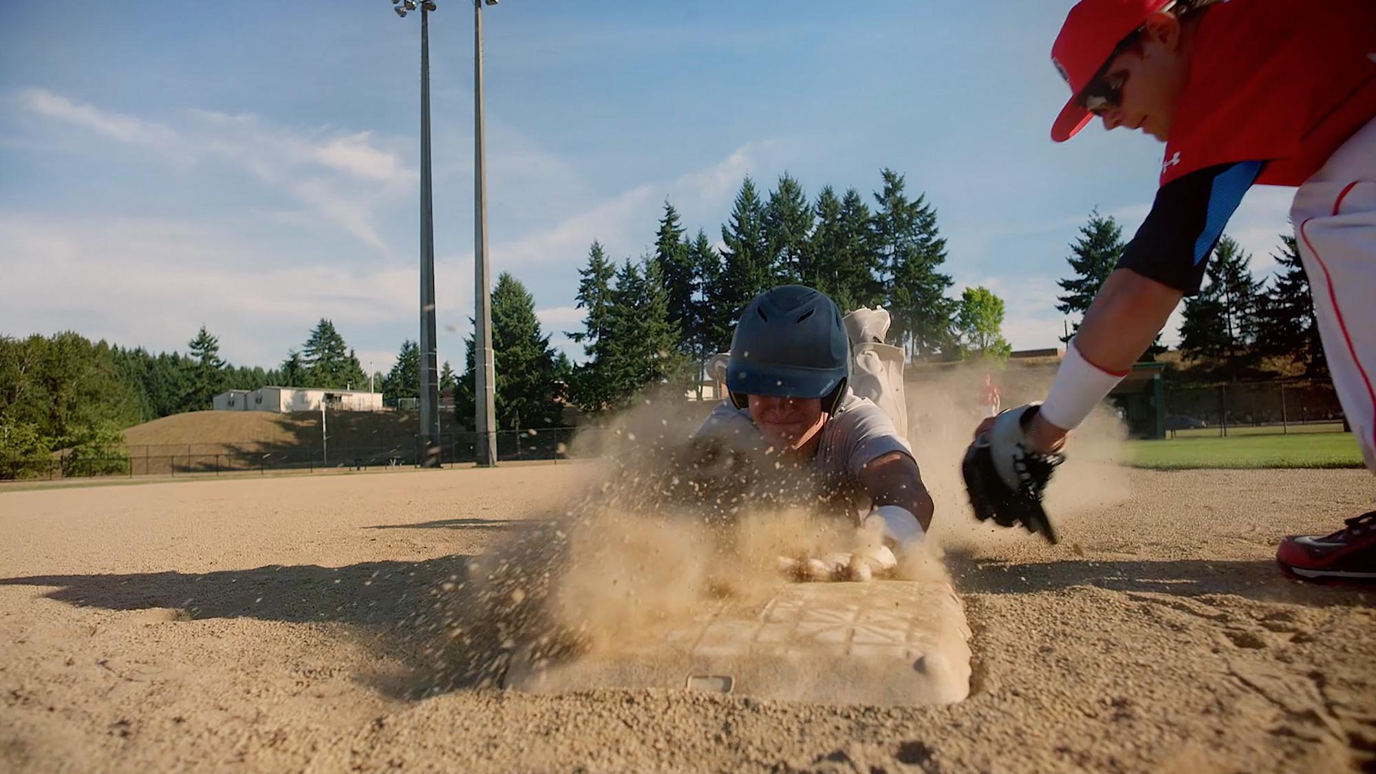 Baseball Gear in Action