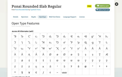 CSS Typography: Kerning, Ligatures, Swashes & Small-Caps | Viget