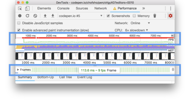 Animation Performance 101: Measuring with Dev Tools | Viget
