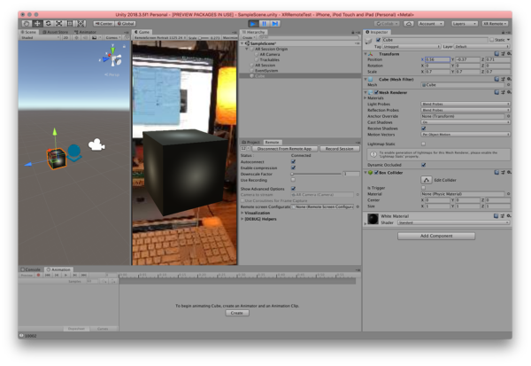 Cross-platform Augmented Reality with Unity | Viget