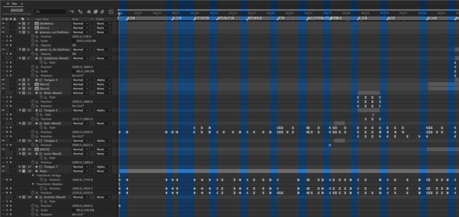 Triggering Individual Animations on a Timeline with Lottie