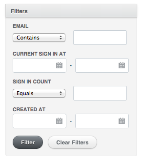 How to Build Your Own Filters with Ransack | Viget