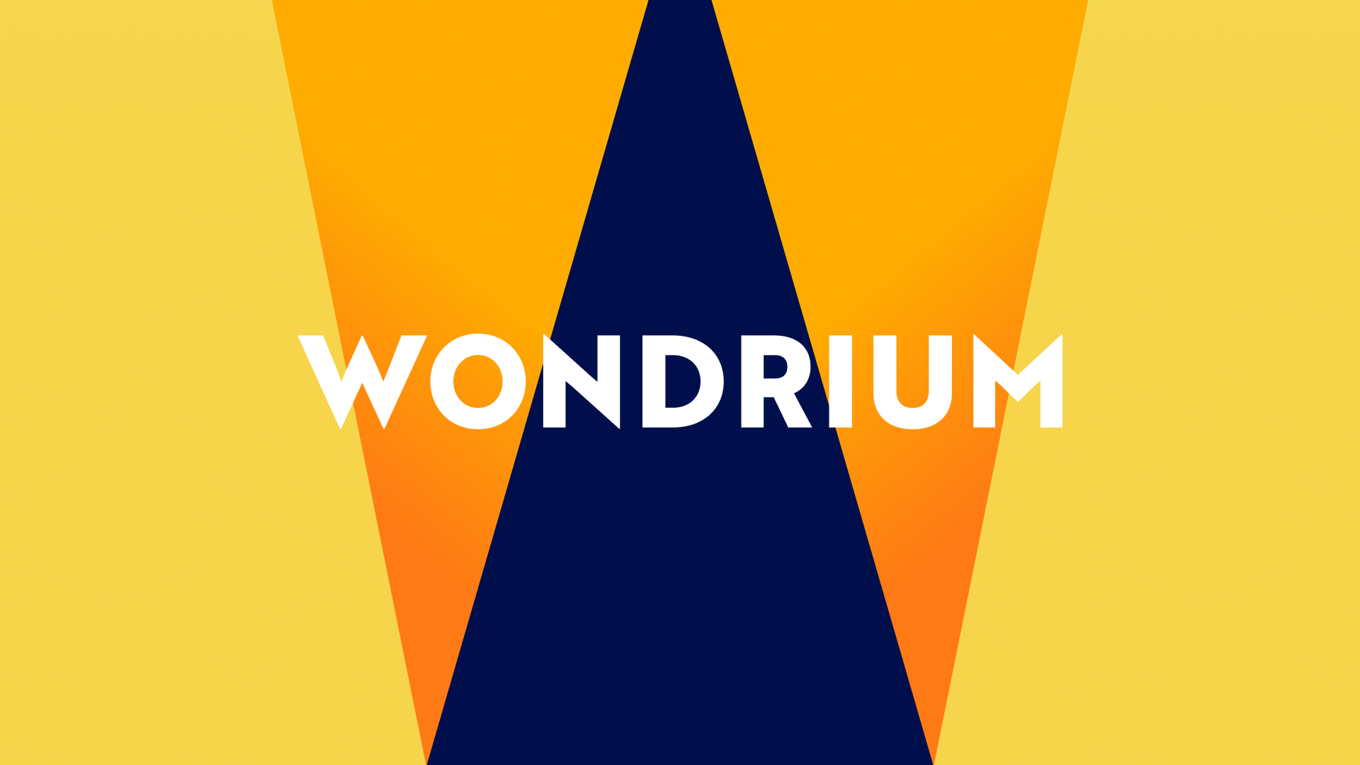 Wondrium logotype in the foreground with the Wondrium Logomark in the background